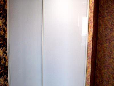 Шкаф-Купе Встроенный в Нишу Oracal Белый