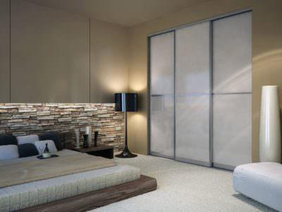 Шкаф-Купе в спальную комнату Oracal